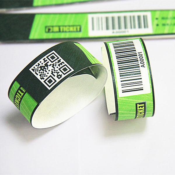 Бумажные носители прохода c qr-кодом